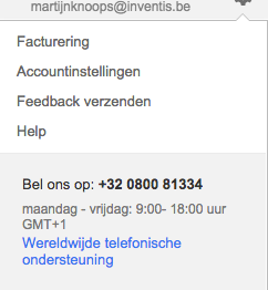 AdWords facturering