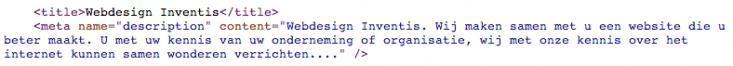 Html-code Inventis