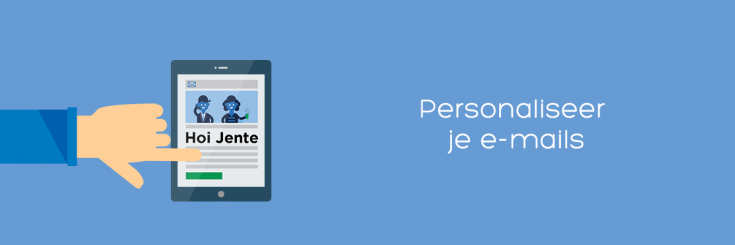 Personaliseer je e-mails