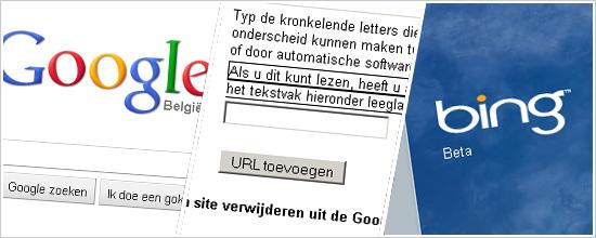 Je website aanmelden bij zoekmachines