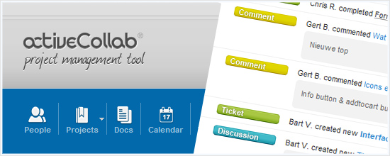 activeCollab: project management tool