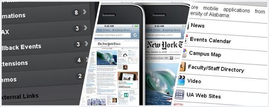 iPhone webdevelopment