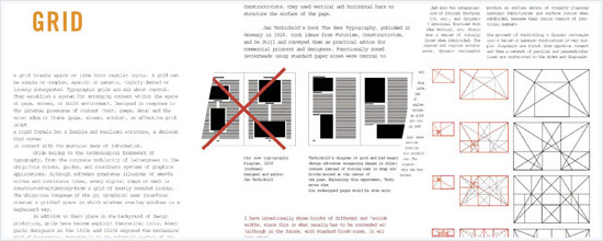 Thinking with Type - Grid