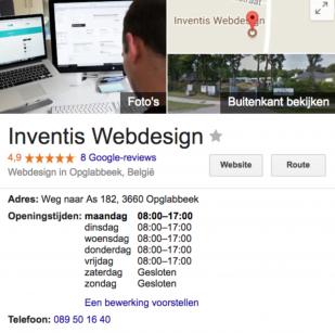 Contactgegevens Inventis